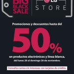 Black friday 2017 LG Store el salvador