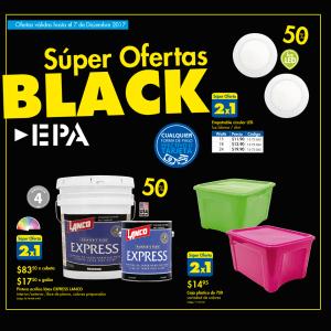 Catalogo de ofertas Black Firday 2017 de ferreteria epa