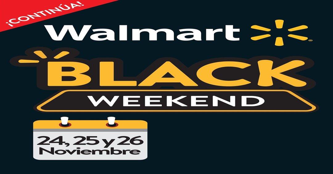 Ya inicio BLACK Weekend 2017 de Walmart [24, 25 y 26 de Noviembre]