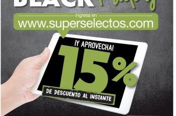 Descuentos Black Friday 2017 super selectos