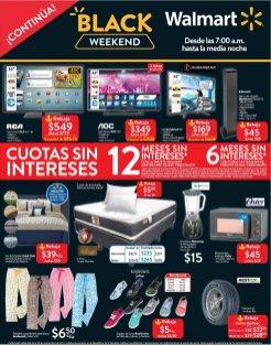 EL Black Weekend 2017 de Walmart hasta media noche