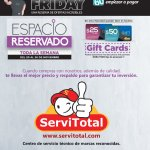 GIFT cards for BLACK FRIDAY 2017 La Curacao
