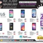 Ofertas Black Friday 2017 Toda la Linea de celulares LG