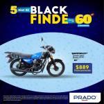 Prado Black finde moto serpento taypan 150cc por 889 dolares
