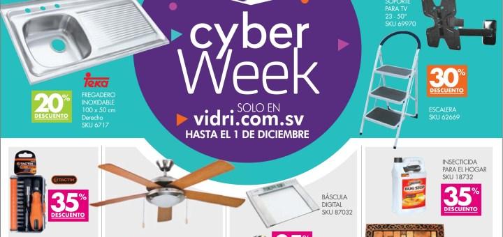 Promociones cyber week 2017 almacenes vidri
