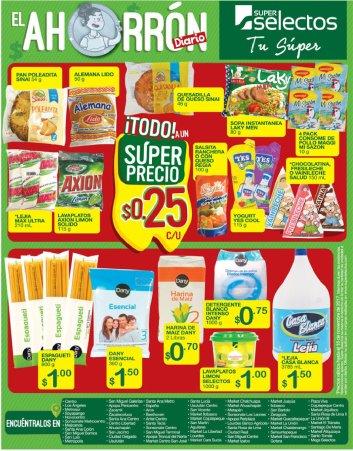 SUPER SELECTOS ahorro de viernes 10nov17 y mas