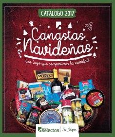 Super Selectos Catalogo de canastas navideñas 2017