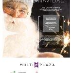 inauguracion de temporada navideña 2017 en centro comericla multiplaza