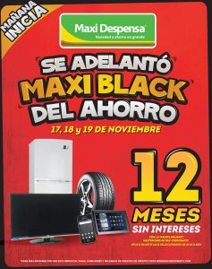 manana incia en max despensa black weekend
