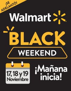 se adelanto walmart black weekend 2017
