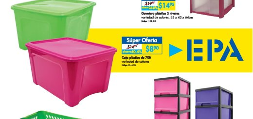 MEGA plasticos utencilios para el hogar Ferreteria epa