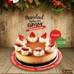 Mister DOnut Postres de navidad EL IMPOSIBLE de fresa