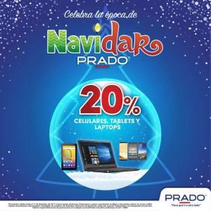 NAVIDAR 2017 de almacenes PRADO 20 off en celulares tablets y laptops