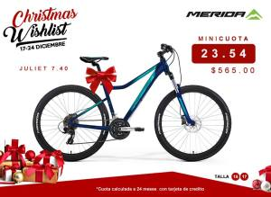 SPORTS BIKE model juliet 7-40 christmas whislist