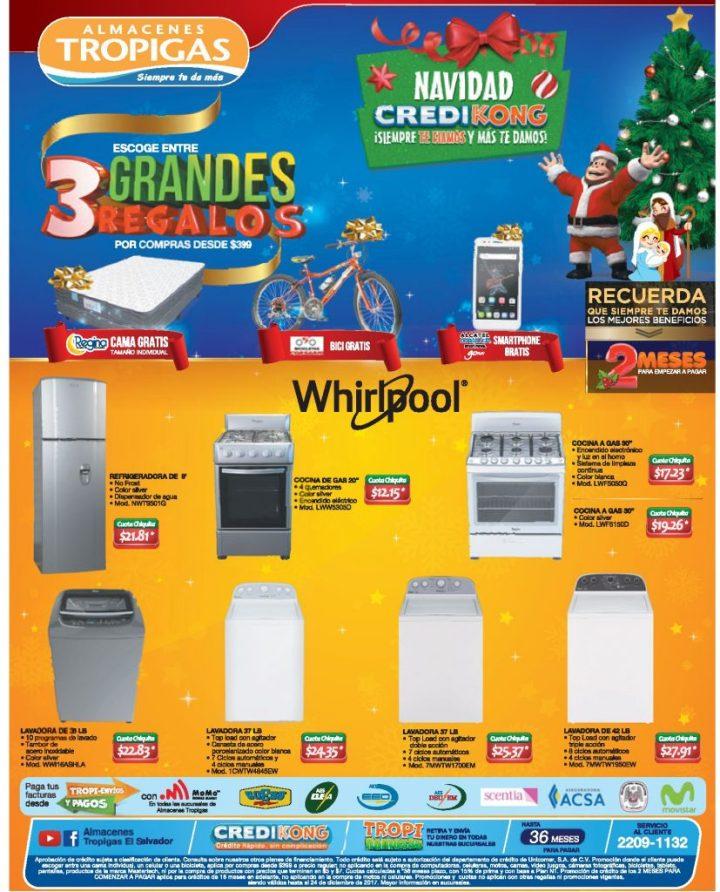 TropigasLinea Blanca Whirpool con ofertas de Navidad - 20dic17