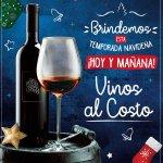 temporada de regalar vinos AL COSTO con super selectos