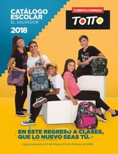 Catalogo de mochilas escolar 2018 de TOTTO