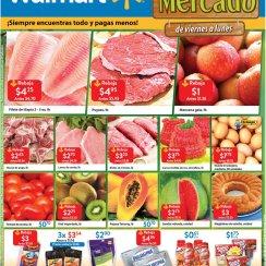 MERCADO con vegetales frescos en WALMART sv - 26ene18