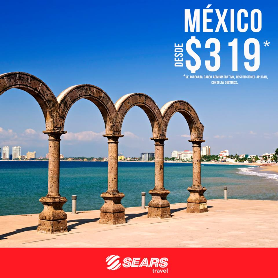 Boletos areos SEARS Travel El Salvador (Enero 2018)