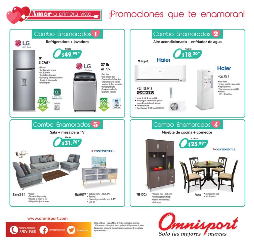 Almacenes Omnisport catalogo de ofertas febrero 2018