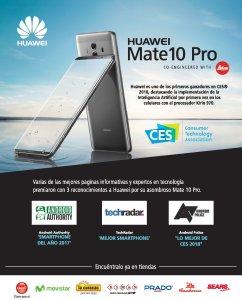 Donde comprar el nuevo HUAWEI Mate 10 Pro smartphone