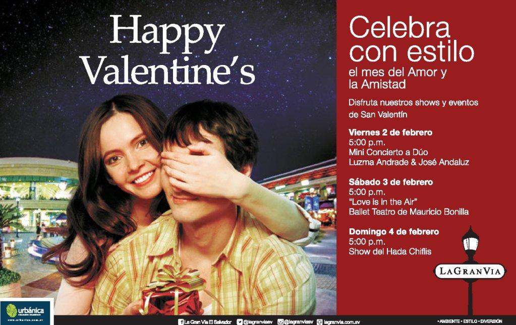 Eventos para el mes de febrero happy valentines day