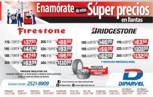 Llantas de calidad firestone and brigstone