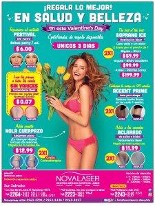 Paquetes de salud y belleza en NOVALASER ofertas febrero 2018