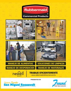 Prodcutos Rubbermaid disponible en freund san miguel