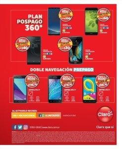 Promociones CLARO el salvador en celulares y planes