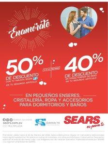 Sears sopresas y descuentos para celebrar san valentin 2018