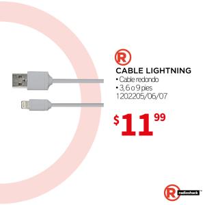 cable lightning certificado para tu iphone y ipad