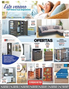 Ferrocentro con oferta de muebles en verano 2018