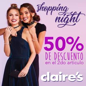 Multiplaza Shopping Night 16 Marzo - CLAIRES sv