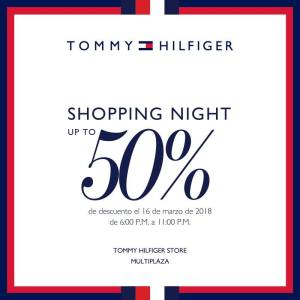 Multiplaza Shopping Night 16 Marzo - TOMMY hilfiger sv