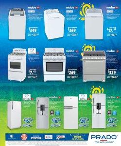 PRADO promociones de electrodomesticos abril 2018