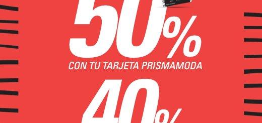 PRISMA MODA descuentos este fin de semana - 21abr18