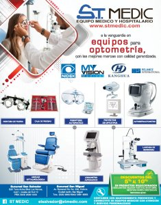 ST Medic disponible equipos para optometria