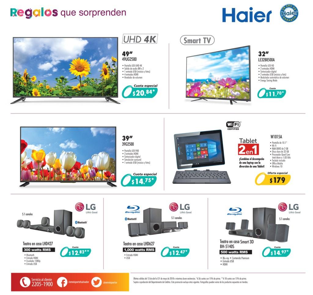 TELEVISORES con la mayor calidad y resolucion HAIER
