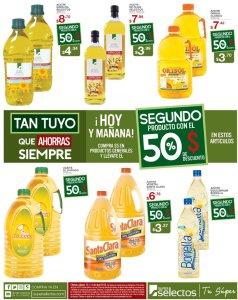 Todos los aceites de cocina con 50 off viernes superselectos