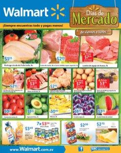 WALMART ofertas en frutas y vegetales frescos taridos del mercado
