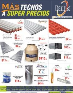 todos los techos que necesites para tu construcion
