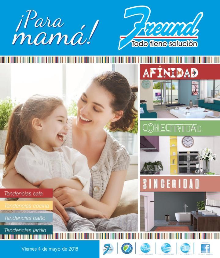 Cuadernillo de regalos y ofertas freund el salvador MAMAS 2018
