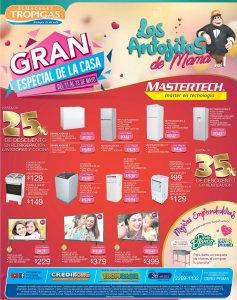 GRAN especial de electrosomesticos MASTERTECH de tropigas - 11may18