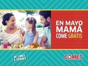 SIMAN promocion comet diner mama come gratis