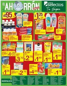 SUPER SELECTOS maximo ahorro en tus compras diarias - 04may18