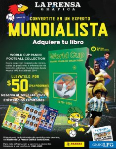 WORLD CUP history book expert collection PANINI