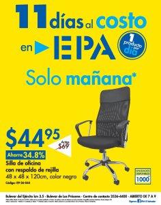 EPA oferta Silla de oficina con respaldo de rejilla al costo