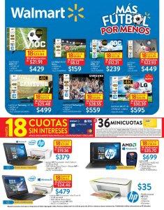 HAY mas promociones de fubtol en WALMART para PAPA - 15jun18
