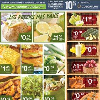Nuevas imagen mejor frescura en frutas y verduras SUPER SELECTOS - 12jun18